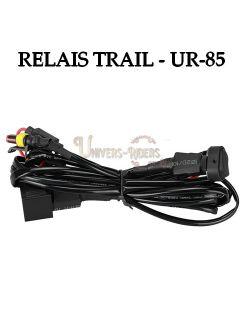 Cablage Relais avec bouton On-Off pour optique Trail UR-85
