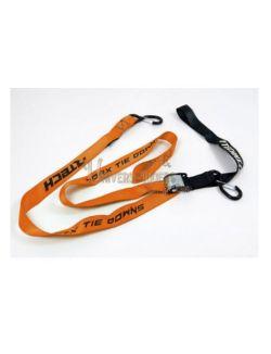 Sangles moto RTECH Orange (Paire)