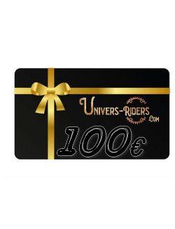 Carte cadeau Univers-riders valeur 100€