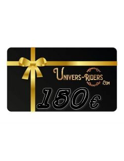 Carte cadeau Univers-riders valeur 150€