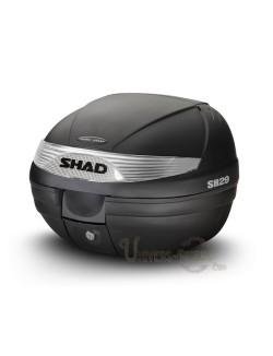 Top case moto SHAD SH29 litres Noir brut