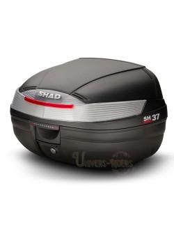 Top case moto SHAD SH37 litres Noir brut