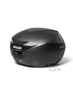 Top case moto SHAD SH39 litres Noir basic