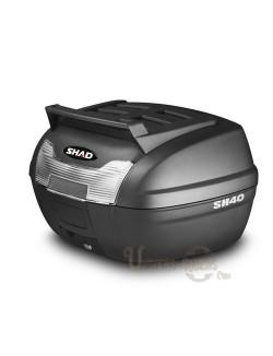 Top case moto SHAD SH40 litres Cargo
