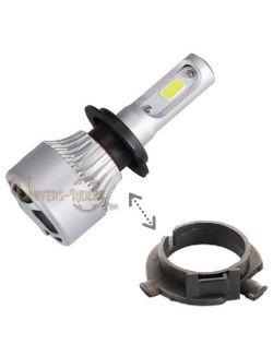 Adaptateur entretoise pour ampoule H7 LED AUTO