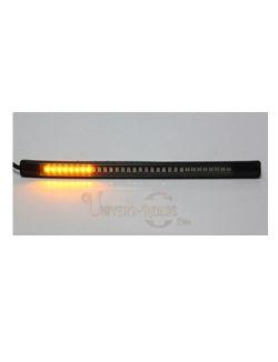 Flexible LED étanche avec autocollant 3M Stop/Veilleuse/Clignotants 20.5cm