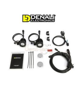 Kit éclairages additionnels Denali D2 moto 10w