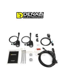 Kit éclairages additionnels Denali DM moto 10w