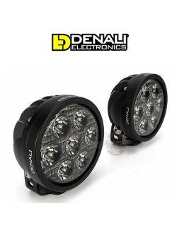 Kit éclairages additionnels Denali D7 moto 10w