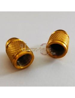 Bouchons de valves Bubble Or (paire)