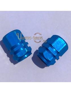 Bouchons de valves Simba Bleu  (paire)