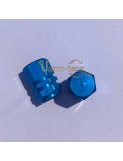 Bouchons de valves Bubble Bleu  (paire)