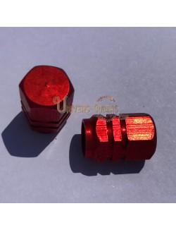 Bouchons de valves Simba Rouge (paire)