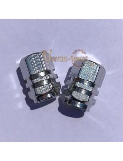 Bouchons de valves Simba Argent  (paire)