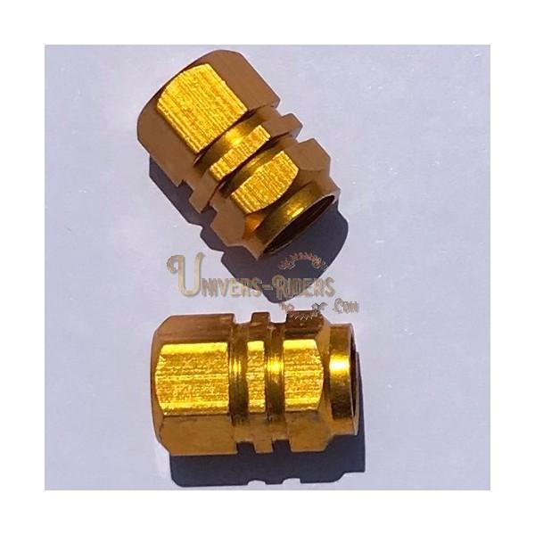 Bouchons de valves Simba Or  (paire)