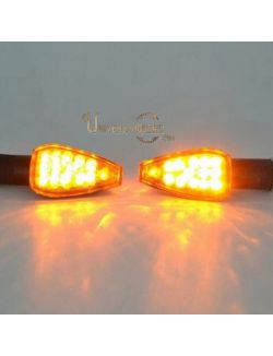 Clignotants Speed LED Noir Universels