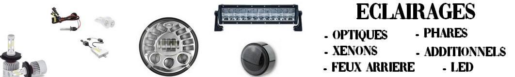 Eclairage et phare pour Moto- Auto- SSV à LED et Xenon