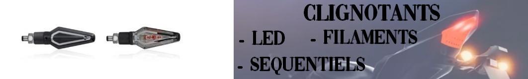 Clignotants LED et filaments Motos, Scooters, Quads