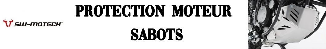 Sabots de protection pour moteur moto