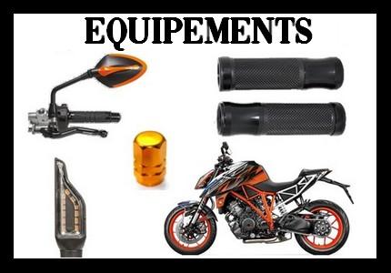 Equipement et accesoires motos