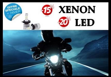 Offre spéciale hiver ampoules xénon et LED