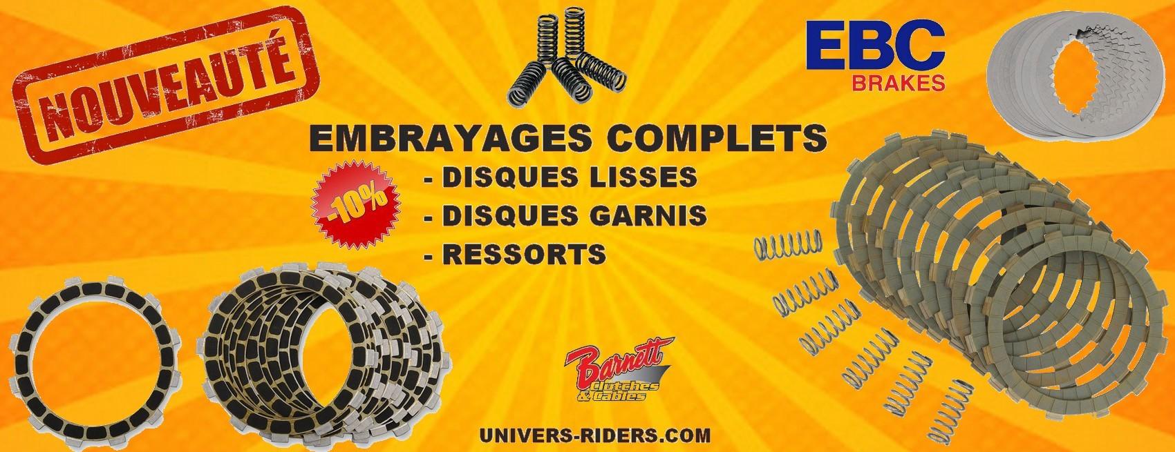Embrayages ebc Motos Univers Riders