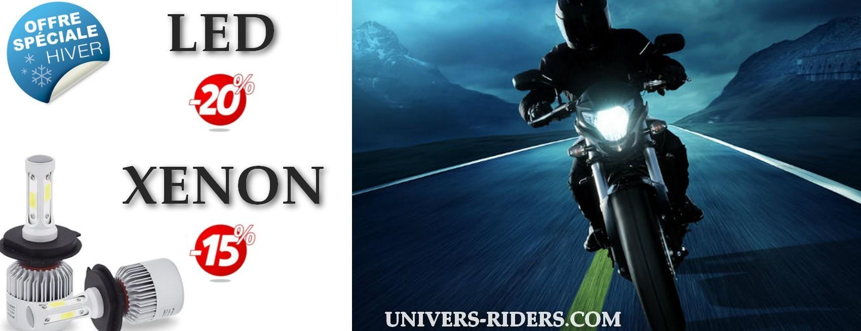 Promotions hiver xénon et led moto