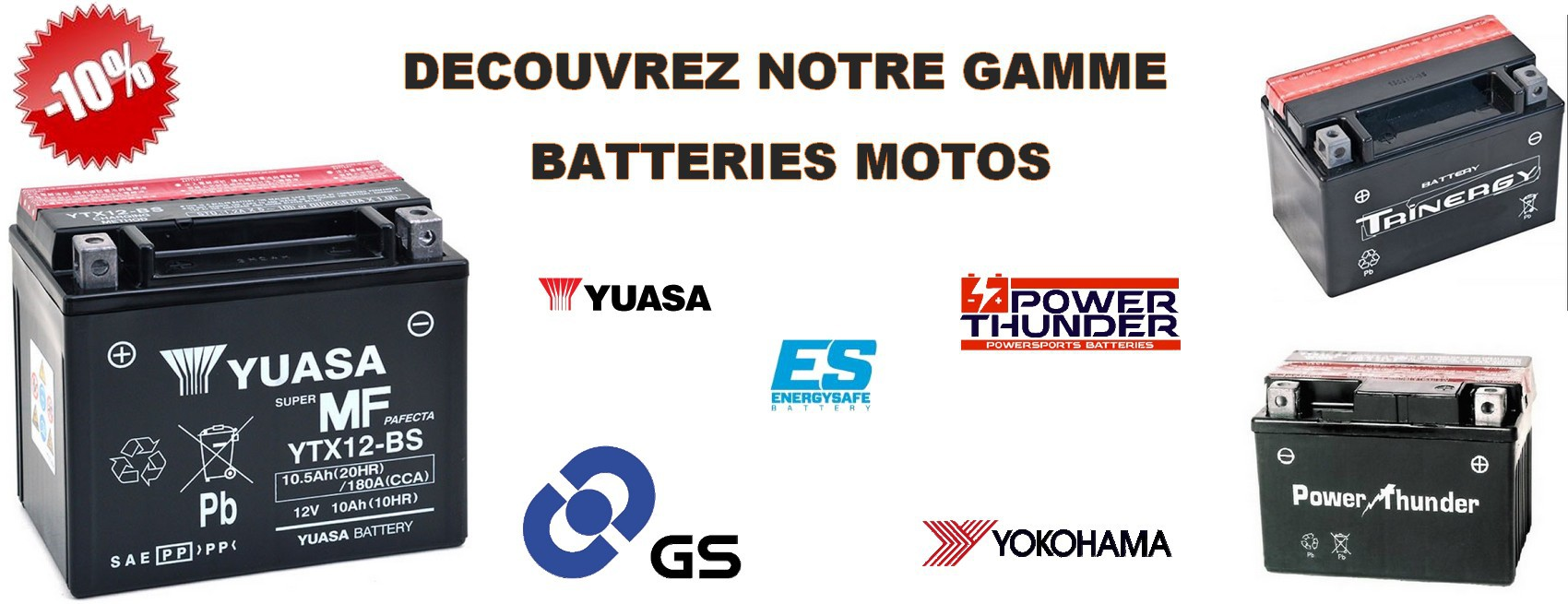 Batterie moto univers riders