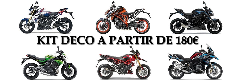 Personnalisez votre moto en achetant votre kit déco moto